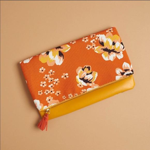 Rachel Pally Handbags - Rachel Pally Reversible floral Clutch
